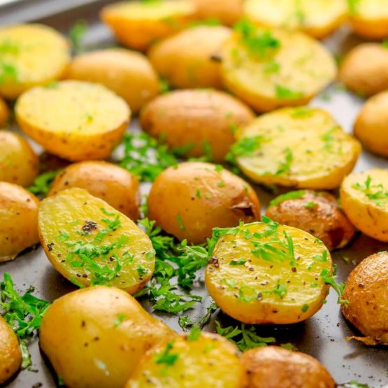 Картофель запеченный 300гр.